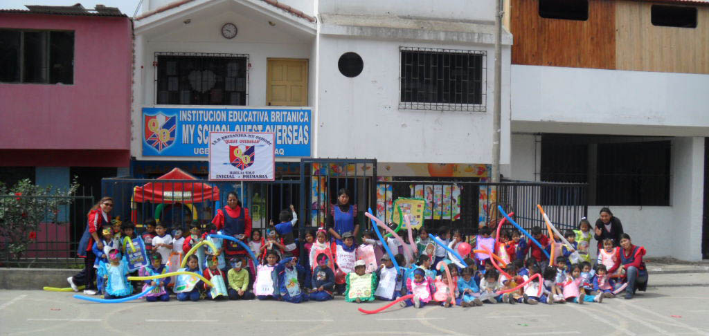 Sponsorship for children at Villa Maria School, Peru