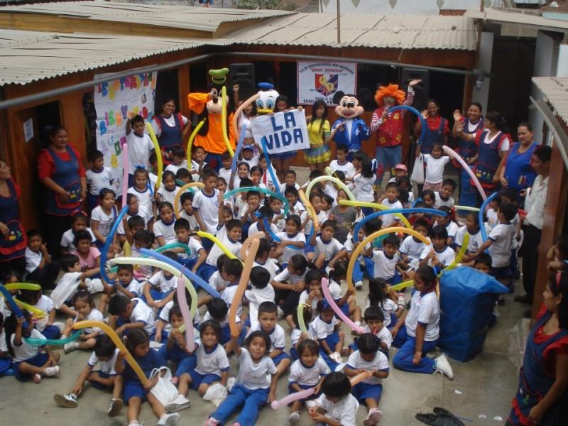 Celebration at Vila Maria