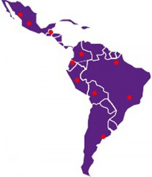 La Vida's map