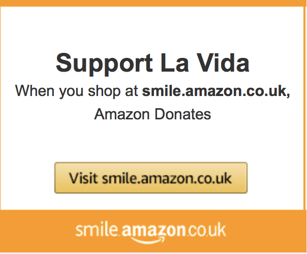 Shop at Amazon and support La Vida