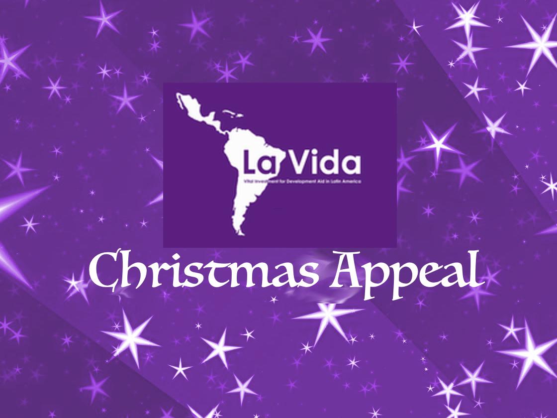 La Vida Christmas Appeal 2018